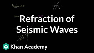 Refraction of seismic waves | Cosmology & Astronomy | Khan Academy