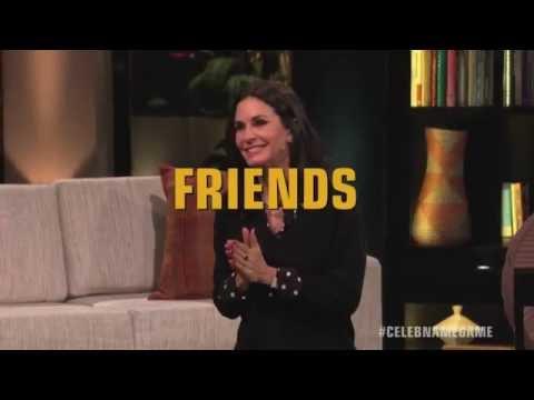 Bonus Round FRIENDS with Courteney Cox & Lisa Kudrow Celebrity Name Game