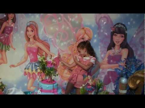 Encerramento de Aniversário Maria Eduarda 6 Anos Barbie e o segredo das Fadas EVD artes
