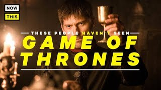 People React to Game of Thrones For The First Time   NowThis Nerd