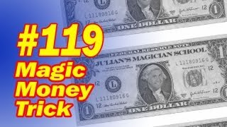 Magic Money Trick - Fast Visual Magic With Free Download
