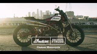 Scout FTR1200 Custom - Indian Motorcycle