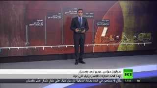 صواريخ حماس في وجه ترسانة اسرائيل (مقارنة وتوضيح)