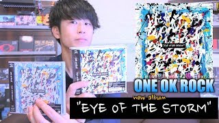 "【ONE OK ROCK】""Eye of the Storm""New album 2019 review."