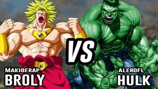 Rap| Hulk Vs Broly | Ft. Makiberap | Prod. Sackrozhenn