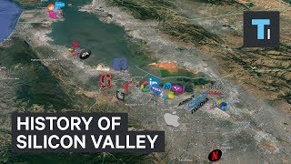 Animated timeline shows how Silicon Valley became a $2.8 trillion neighborhood