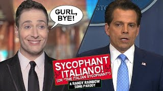 THE SYCOPHANT ITALIANO 👋🏻🇮🇹 - Randy Rainbow Song Parody