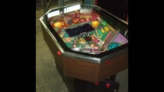 #302 Rare CARIBBEAN CRUISE cocktail table Pinball Machine-and its HISTORY-TNT Amusements