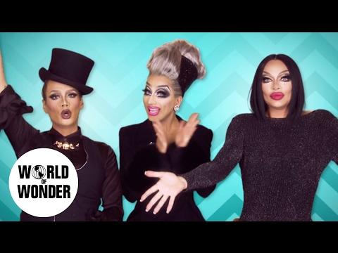 Xxx Mp4 FASHION PHOTO RUVIEW Season 9 RuPaul S Drag Race Promo Looks With Raja Raven BIANCA DEL RIO 3gp Sex