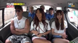SBS [런닝맨] - 아이돌의 제왕 SISTAR(효린,다솜) Cut