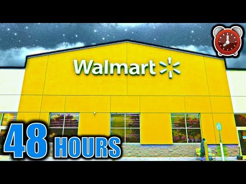 48 HOUR OVERNIGHT CHALLENGE IN WALMART TRUTH or DARE PART 2
