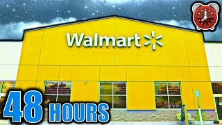 48 HOUR OVERNIGHT CHALLENGE IN WALMART (TRUTH or DARE PART 2)