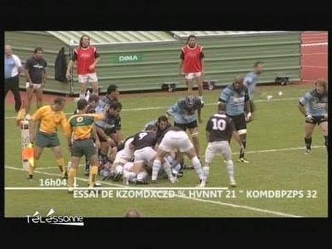 Massy battu par Périgueux Rugby/Trophée Jean Prat 2011