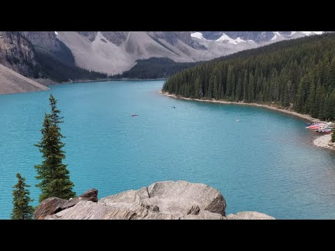 TOP 7 LAKES IN BANFF CANADA 4k