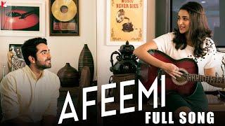 Afeemi - Full Song   Meri Pyaari Bindu   Ayushmann   Parineeti   Jigar   Sanah