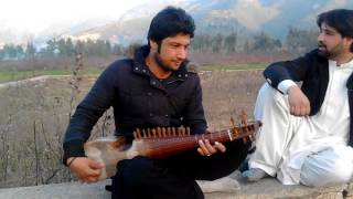 Izhar master of rabab playing Indian song