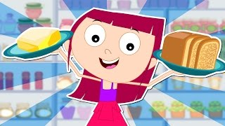 Betty Botter Bought Some Butter | Nursery Rhymes For Kids | Tongue Twister For Children