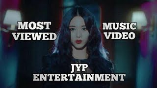 Top 15 Most Viewed JYP Entertainment Groups Music Video