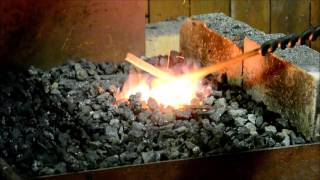 How to forge a simple knife