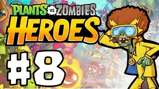 Plants vs. Zombie Heroes Part 8 | DANCING WITH ELECTRIC BOOGALOO!! | Best New PVZ Game IOS/ANDROID!