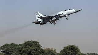 The first flight of a dual-seat JF-17B
