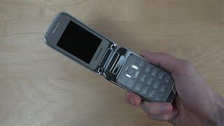 Samsung GT-C3590 Flip Phone - Unboxing (4K)
