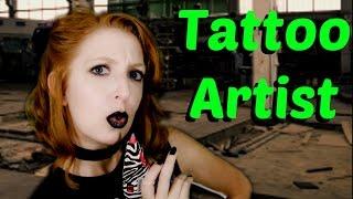 Tattoo Artist Role Play [ASMR]