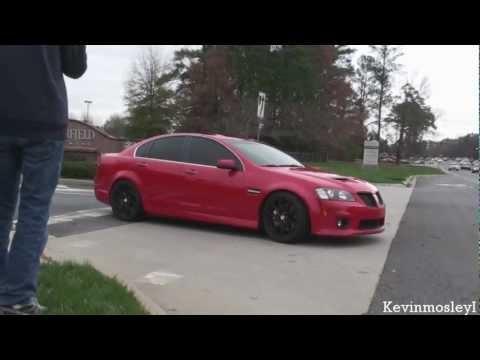 Pontiac G8 GXP sound