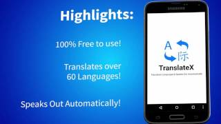 TranslateX - The Best Translation Android App on Google Playstore