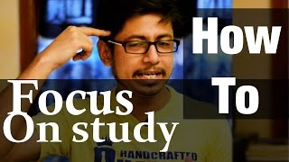 How to focus on studying for long hours | how to concentrate on studyies for long hours