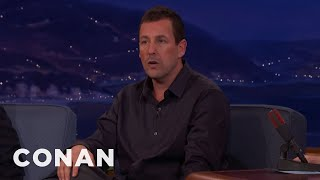 Adam Sandler Made His Wife's Cannes Dream Come True  - CONAN on TBS