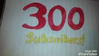 300 subscribers on this channel