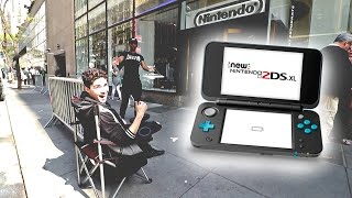 FIRST IN LINE FOR THE NEW NINTENDO 2DS XL (waiting 3 months)