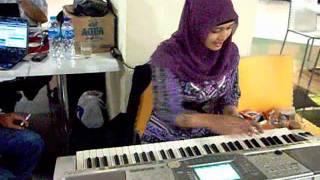 Latihan Organ dg lagu Pertemuan