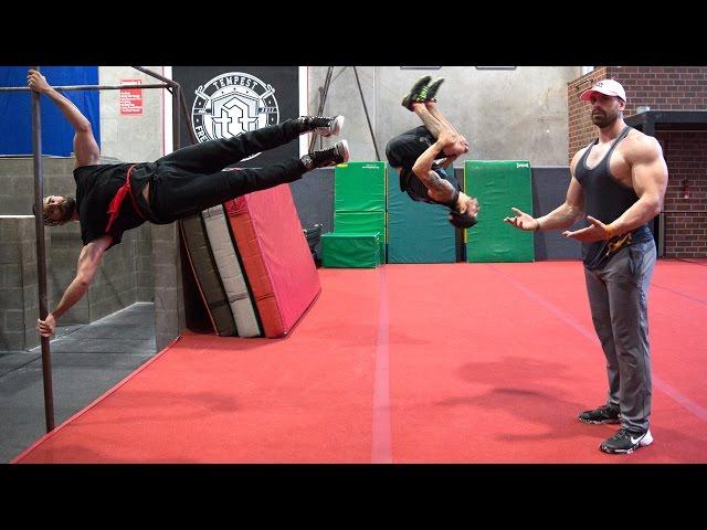 Bros vs. Ninja Warrior Training