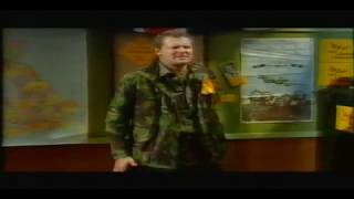 Rory Bremner as Paddy Ashdown: ex leader of Liberal Democrats