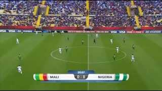 Fifa U 17 2015 Final. Nigeria Vs Mali Full Match 1st half