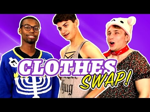 Download CLOTHES SWAP CHALLENGE (Squad Vlogs) HD Mp4 3GP Video and MP3