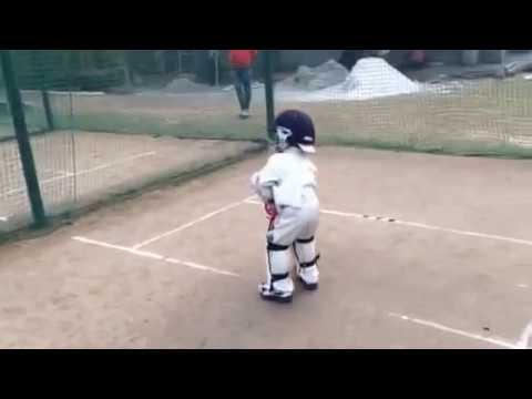 Xxx Mp4 Shayan Jamal Practise Session At The Age Of 3 Youngest Cricket In The World 3gp Sex
