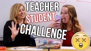 7 Second Challenge | Teacher vs. Student Edition!