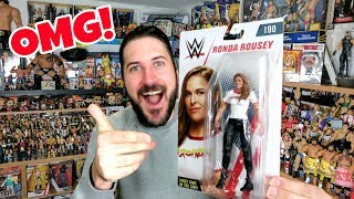 SURPRISE WWE MATTEL UNBOXING - CONTAINS BRAND NEW RONDA ROUSEY FIGURE!!!