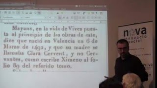 Conferència: Miguel de Cervantes era el català Miquel Servent   Jordi Bilbeny