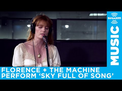 Florence + The Machine perform Sky Full of Song at the SiriusXM Studios