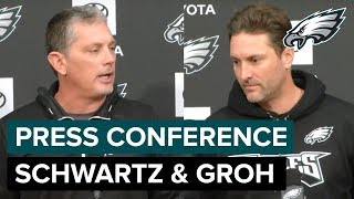 LIVE: Jim Schwartz & Mike Groh Meet With The Media