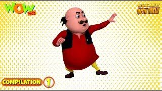 Motu Patlu - Non stop 3 episodes | 3D Animation for kids - #1