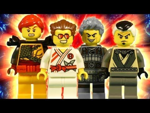 LEGO NINJAGO HUNTED - ELEMENTAL MASTER ATTACK