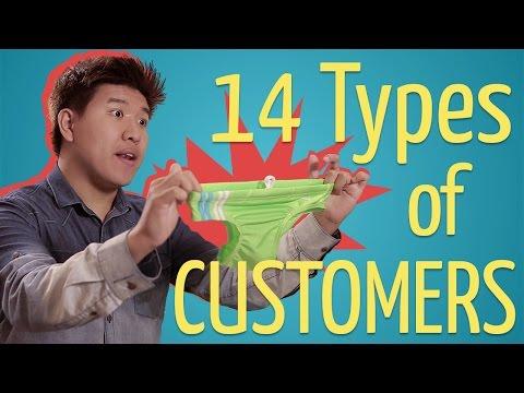 Xxx Mp4 14 Types Of Customers Ft Rachel Wong Amp Darryl Yong 3gp Sex