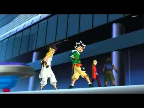 Beyblade Metal Masters Gan Gan Galaxy Team Wild Fang & Wang Hu Zhong vs Team Spiral Force