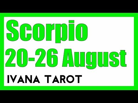 ❤️STILL SPYING ON YOU..? Scorpio Weekly Tarot Reading 20 -26 August 2018