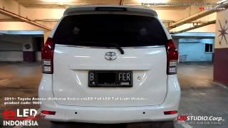 2011~ Toyota Avanza (Daihatsu Xenia) exLED Full LED Tail Light Modules